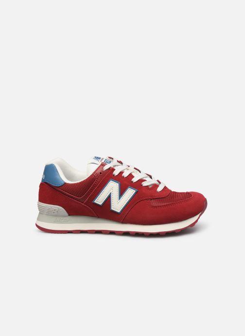 Sneaker New Balance Ml574 weinrot ansicht von hinten