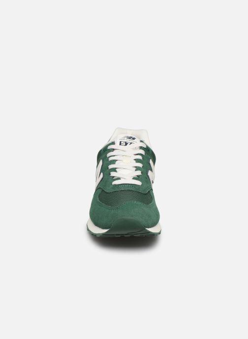 Sneaker New Balance Ml574 grün schuhe getragen