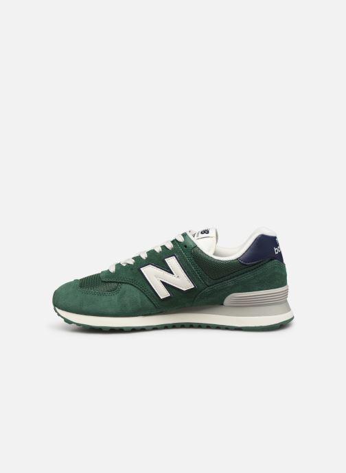 Sneakers New Balance Ml574 Groen voorkant