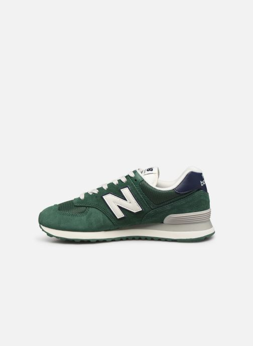 Baskets New Balance Ml574 Vert vue face