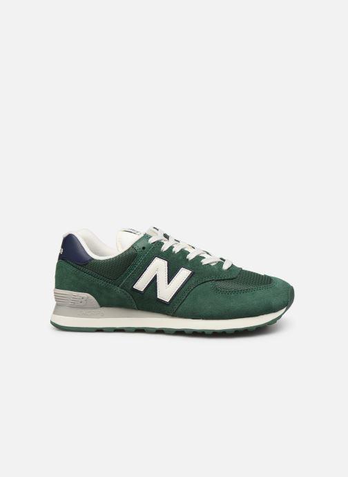 Sneaker New Balance Ml574 grün ansicht von hinten