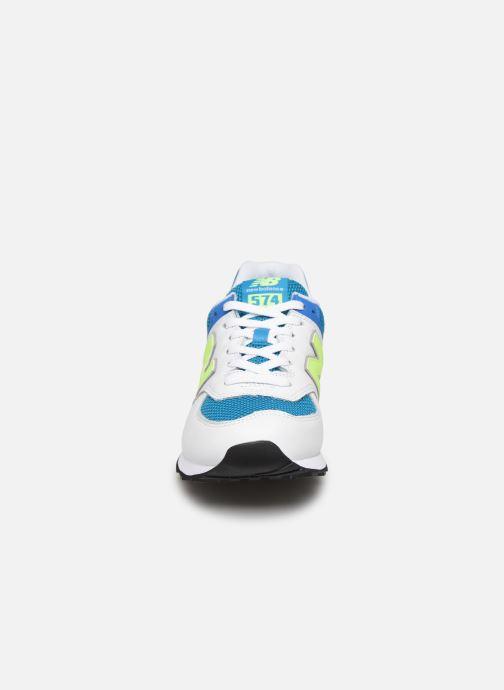 Baskets New Balance Ml574 Multicolore vue portées chaussures