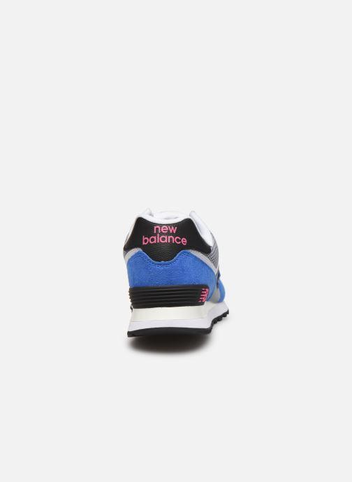 Sneaker New Balance Ml574 mehrfarbig ansicht von rechts