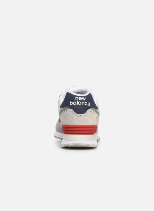 Trainers New Balance Ml574 White view from the right