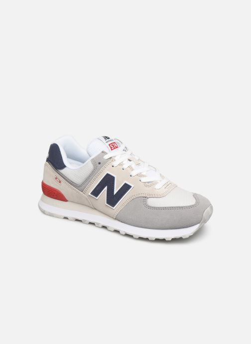 Trainers New Balance Ml574 White detailed view/ Pair view