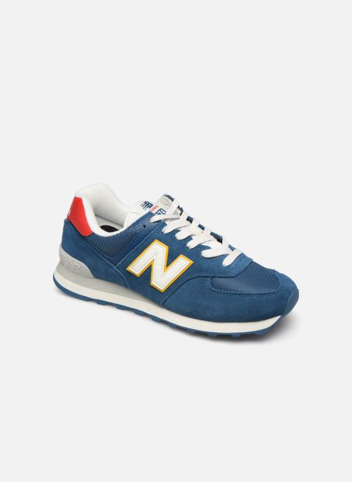 Trainers New Balance Ml574 Blue detailed view/ Pair view