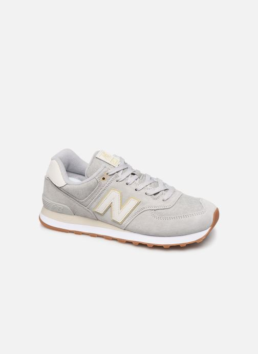 Baskets New Balance Ml574 Gris vue détail/paire