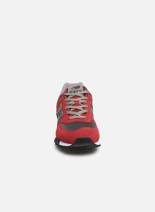 Trainers New Balance Ml574 Red model view