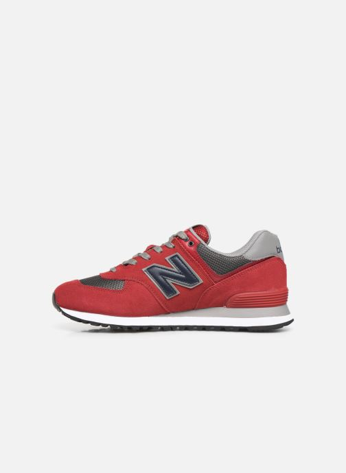 Baskets New Balance Ml574 Rouge vue face
