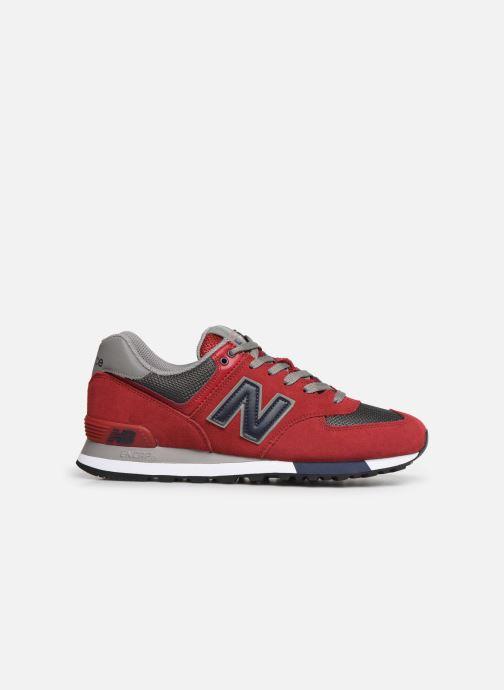 Sneakers New Balance Ml574 Rød se bagfra
