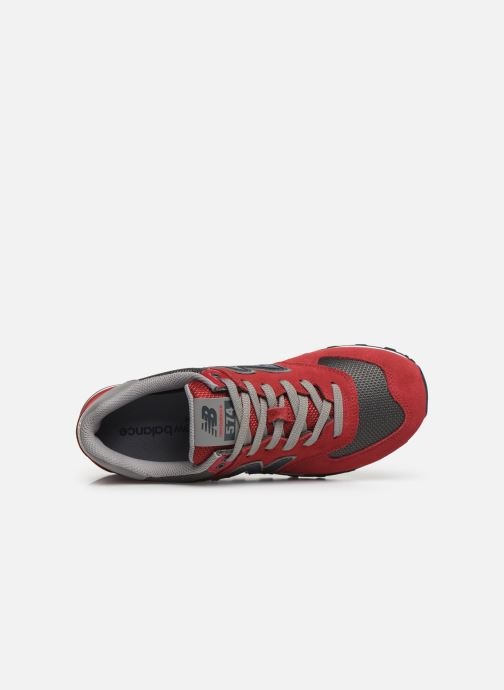 Baskets New Balance Ml574 Rouge vue gauche
