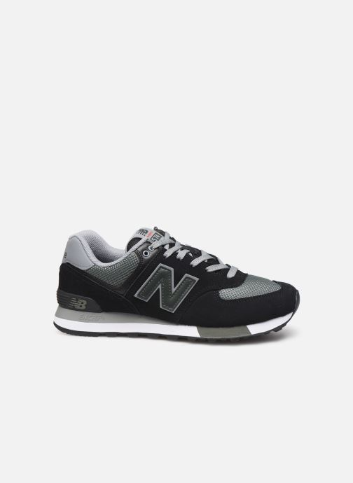 Sneakers New Balance Ml574 Zwart achterkant