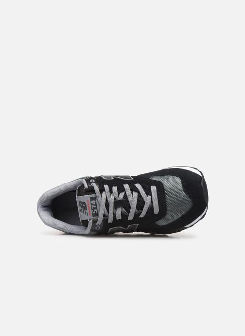 Sneakers New Balance Ml574 Sort se fra venstre