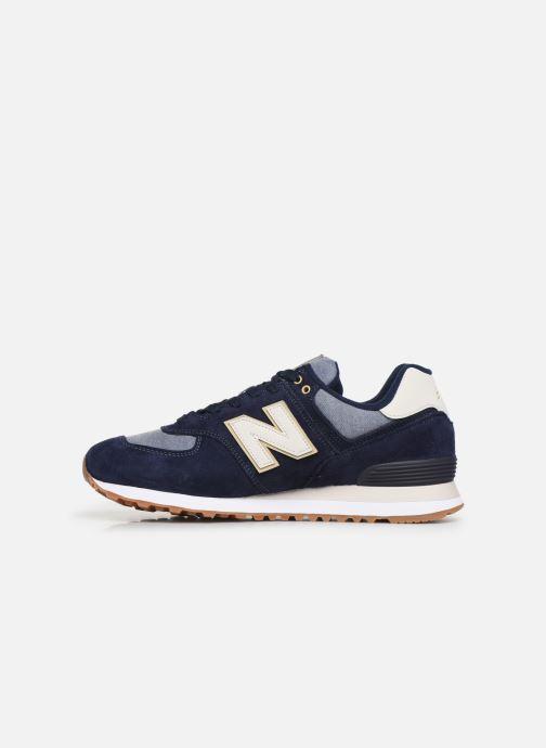 Sneakers New Balance Ml574 Blauw voorkant