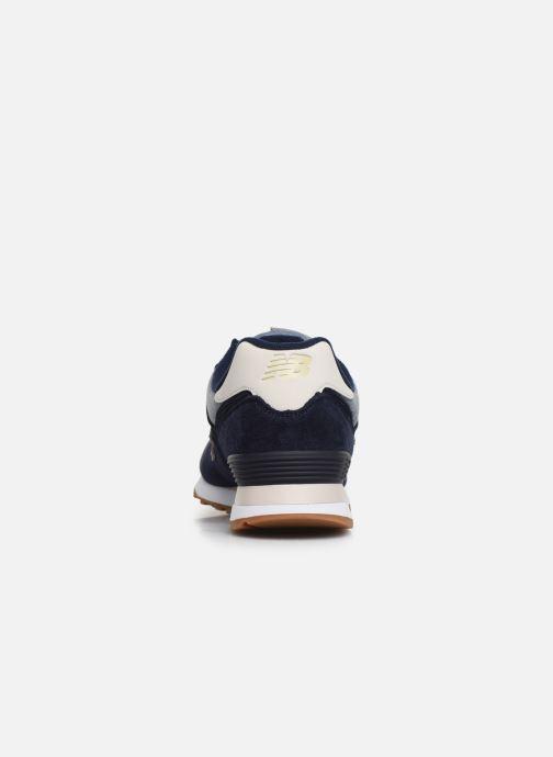 Sneakers New Balance Ml574 Blauw rechts
