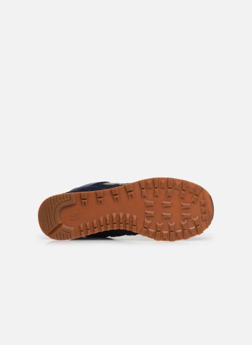 Sneakers New Balance Ml574 Blauw boven