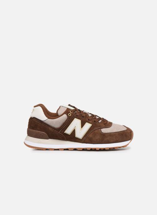 Sneaker New Balance Ml574 braun ansicht von hinten
