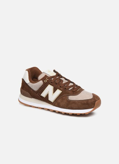 Sneaker New Balance Ml574 braun detaillierte ansicht/modell