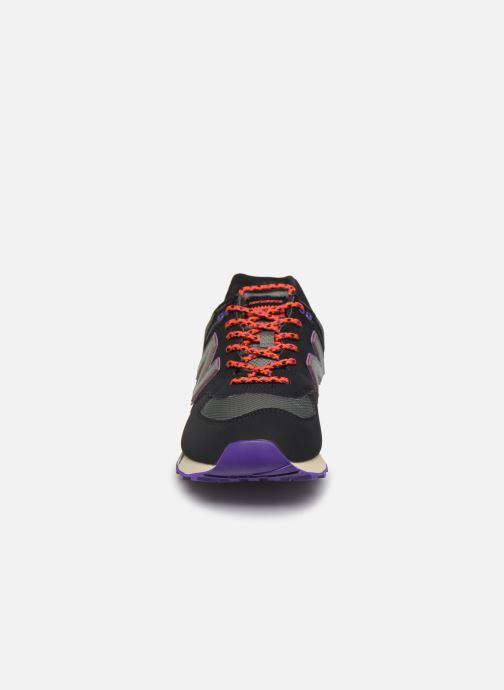 Sneaker New Balance Ml574 schwarz schuhe getragen