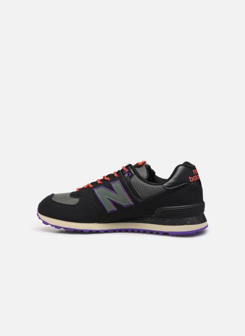 Baskets New Balance Ml574 Noir vue face