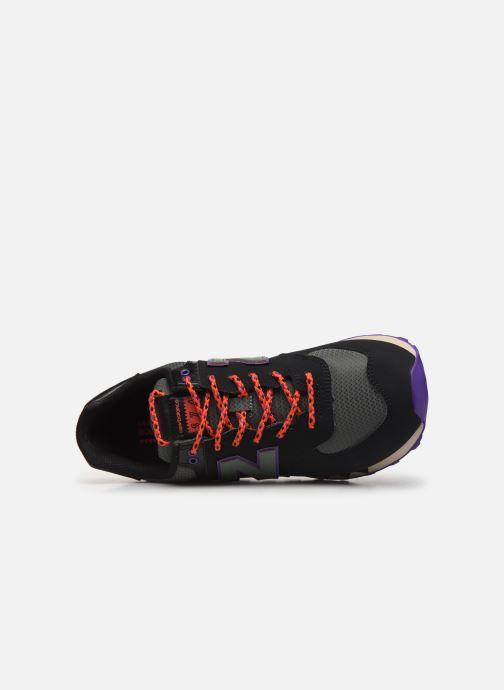 Baskets New Balance Ml574 Noir vue gauche