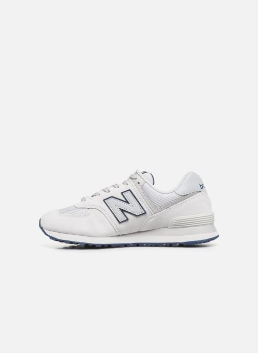 Deportivas New Balance Ml574 Blanco vista de frente