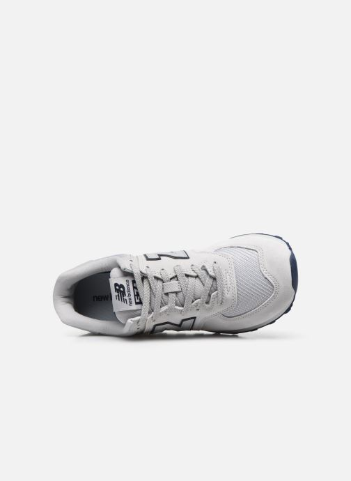 Baskets New Balance Ml574 Blanc vue gauche