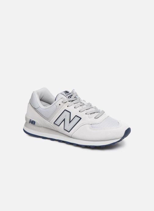 Baskets New Balance Ml574 Blanc vue détail/paire