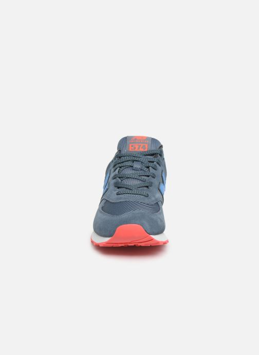 Sneakers New Balance Ml574 Blauw model