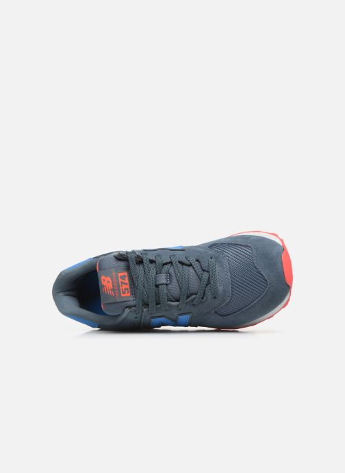 Sneakers New Balance Ml574 Blauw links