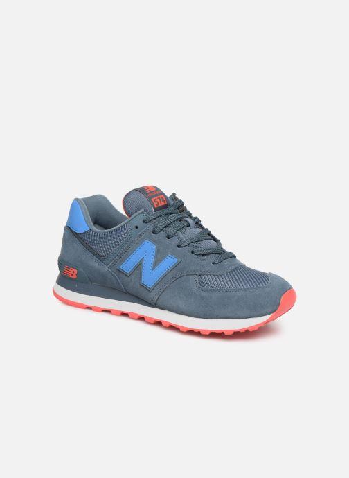 Sneaker New Balance Ml574 blau detaillierte ansicht/modell