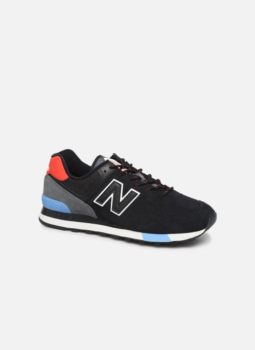 Deportivas New Balance Ml574 Negro vista de detalle / par