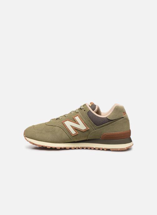 Sneaker New Balance Ml574 grün ansicht von vorne