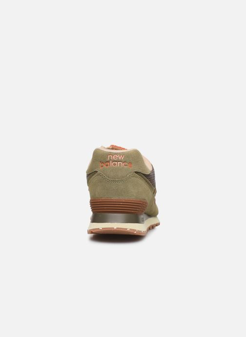 Sneaker New Balance Ml574 grün ansicht von rechts