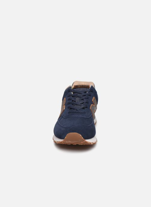 Sneaker New Balance Ml574 blau schuhe getragen