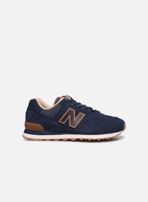Sneaker New Balance Ml574 blau ansicht von hinten