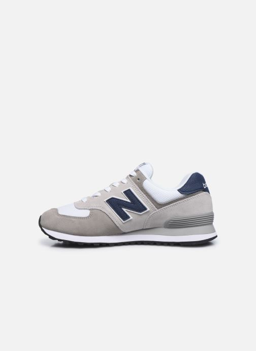 Baskets New Balance Ml574 Gris vue face