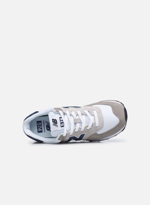 Sneakers New Balance Ml574 Grigio immagine sinistra