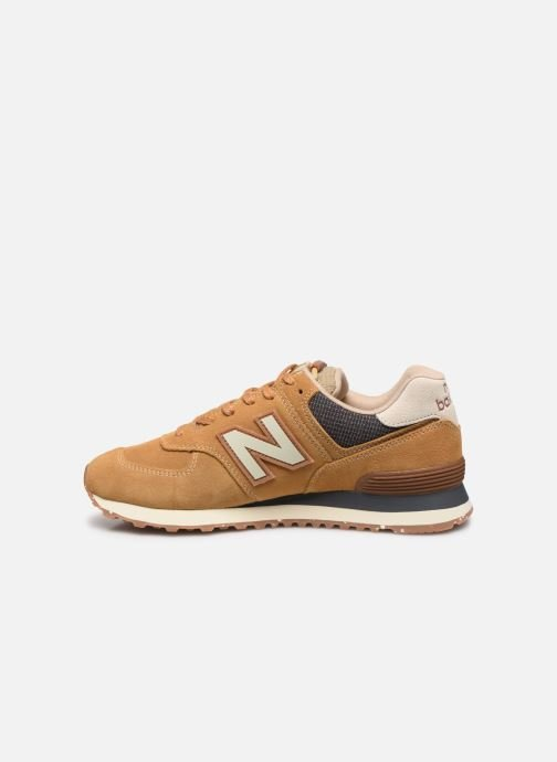 Baskets New Balance Ml574 Marron vue face