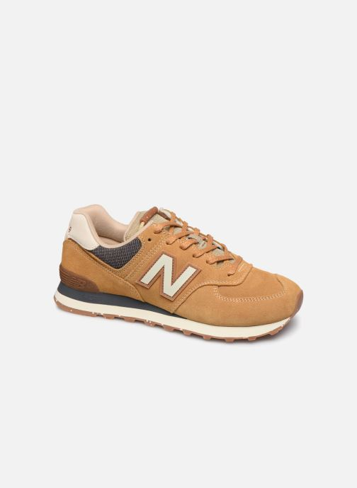 Baskets New Balance Ml574 Marron vue détail/paire