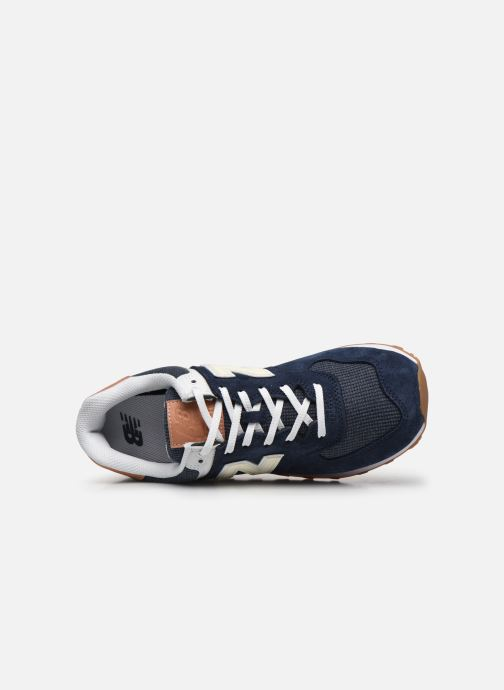 Baskets New Balance Ml574 Bleu vue gauche