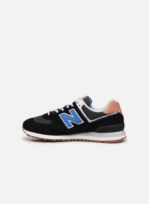Baskets New Balance Ml574 Noir vue face