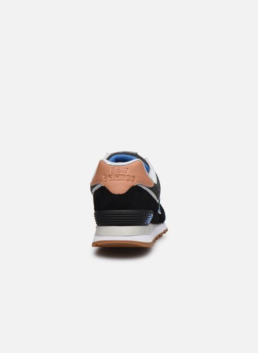Baskets New Balance Ml574 Noir vue droite