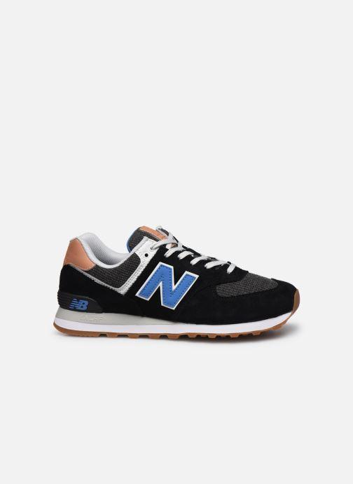 Sneaker New Balance Ml574 schwarz ansicht von hinten