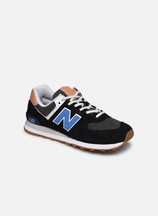 Baskets New Balance Ml574 Noir vue détail/paire