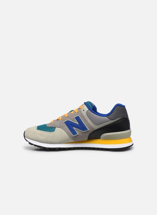 Sneakers New Balance Ml574 Grigio immagine frontale