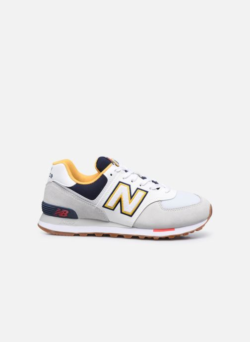 Sneaker New Balance Ml574 grau ansicht von hinten