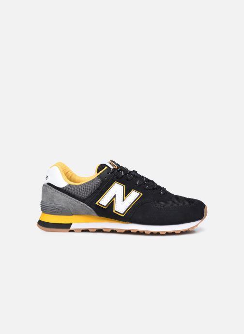 Sneakers New Balance Ml574 Nero immagine posteriore
