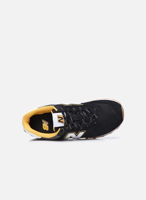 Sneakers New Balance Ml574 Nero immagine sinistra