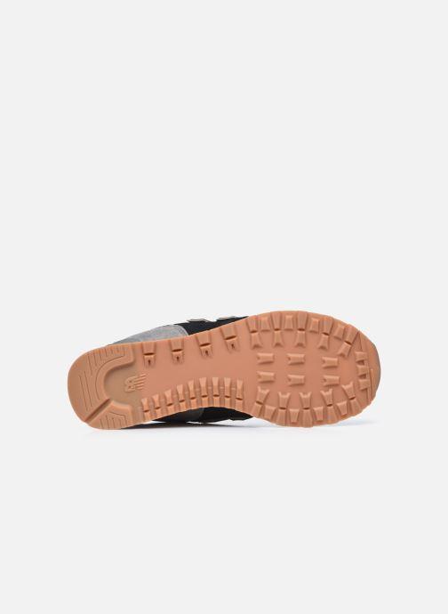 Sneaker New Balance Ml574 schwarz ansicht von oben